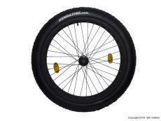 Voderrad für Fitifito FT26 Zoll mit Kenda Juggernaut Fatbike Reifen