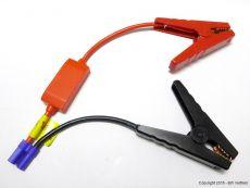 Dickere Batterieklemmen für Starthilfen