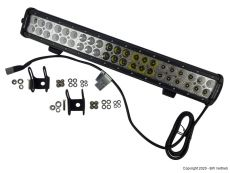 Premium LED light bar 2-reihig mit 126W