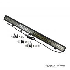 Premium LED light bar 2-reihig mit 234W