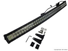 CURVED LED light bar 2-reihig mit 240W